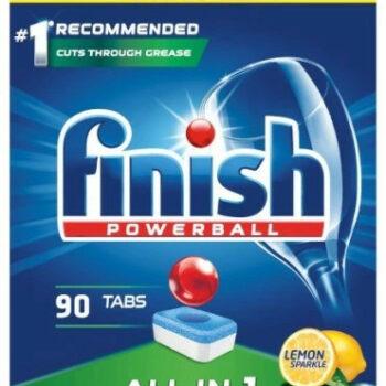FINISH All in 1 Cytrynowy 90szt.