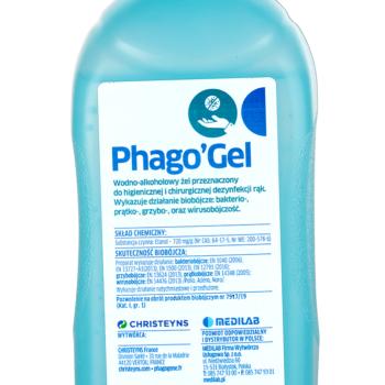 Phago gel 500ml dezynfekcja