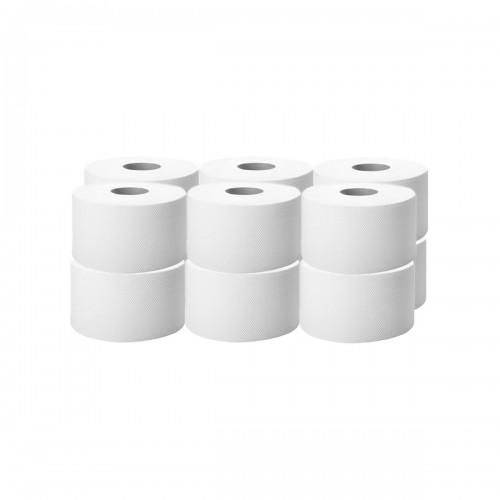 Papier Toaletowy JUMBO Biały Celuloza Klej 12szt.