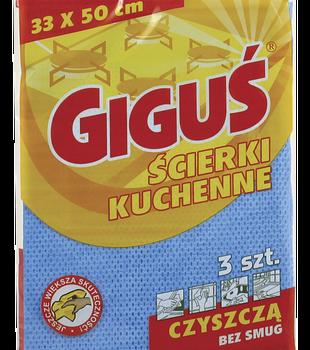 GIGUŚ Ścierka Kuchenna 3 szt.