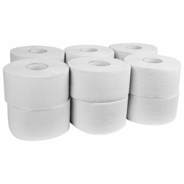 Papier toaletowy jumbo biały 2w