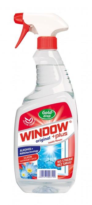 WINDOW PLUS Płyn Do Mycia Szyb I Luster 750ml