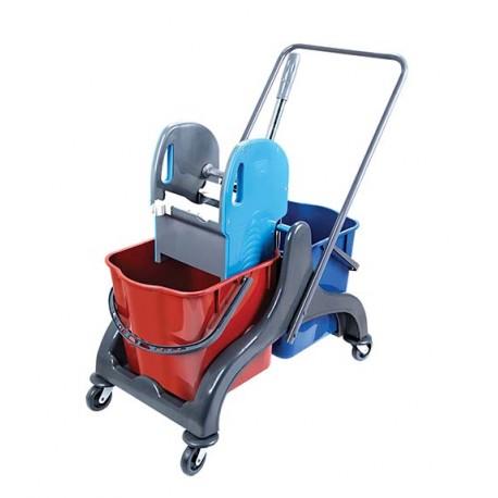 Wózek dwuwiaderkowy 2x25L Diit