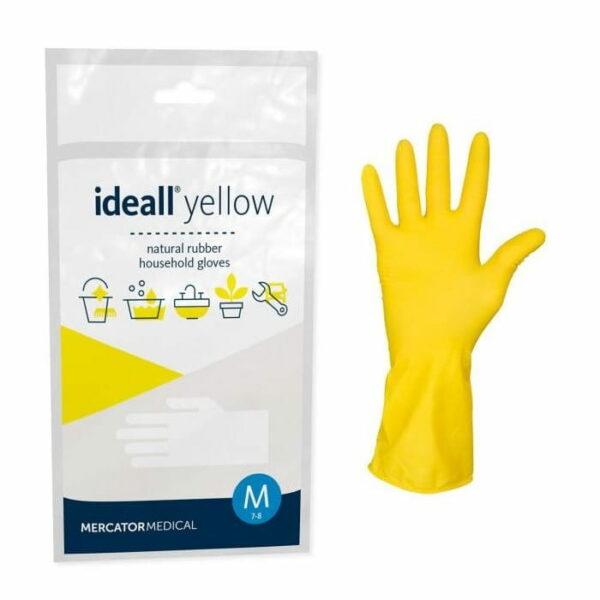 IDEALL yellow Rękawica Gospodarcza